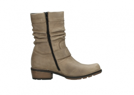 wolky halbhohe stiefel 0526 desna 115 taupe geoltes veloursleder_13