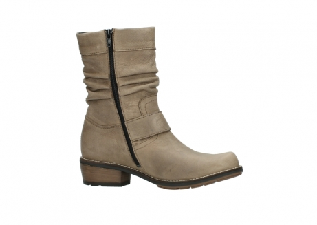 wolky halbhohe stiefel 0526 desna 115 taupe geoltes veloursleder_14