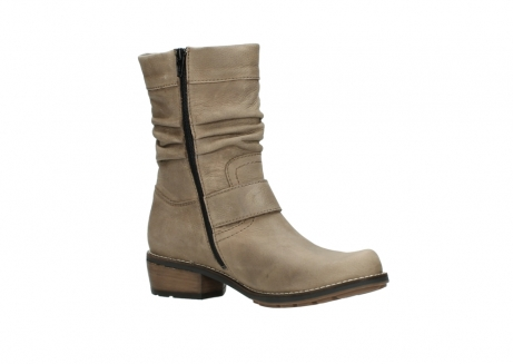 wolky halbhohe stiefel 0526 desna 115 taupe geoltes veloursleder_15
