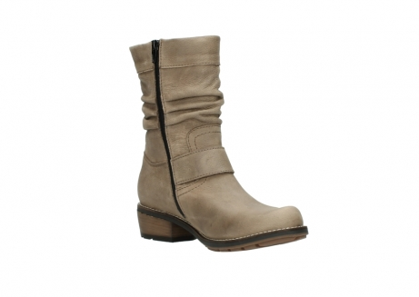 wolky halbhohe stiefel 0526 desna 115 taupe geoltes veloursleder_16