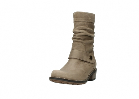 wolky halbhohe stiefel 0526 desna 115 taupe geoltes veloursleder_21