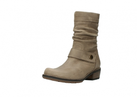 wolky halbhohe stiefel 0526 desna 115 taupe geoltes veloursleder_22