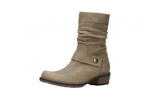 wolky halbhohe stiefel 0526 desna 115 taupe geoltes veloursleder_23