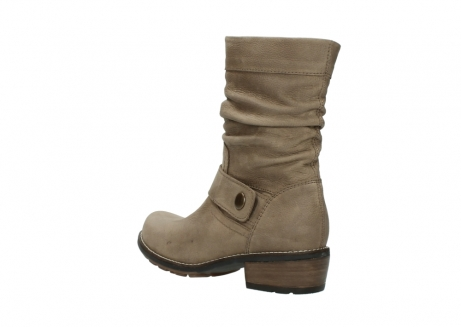 wolky halbhohe stiefel 0526 desna 115 taupe geoltes veloursleder_4