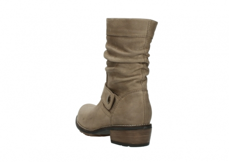 wolky halbhohe stiefel 0526 desna 115 taupe geoltes veloursleder_5