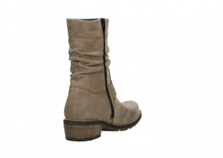 wolky halbhohe stiefel 0526 desna 115 taupe geoltes veloursleder_9