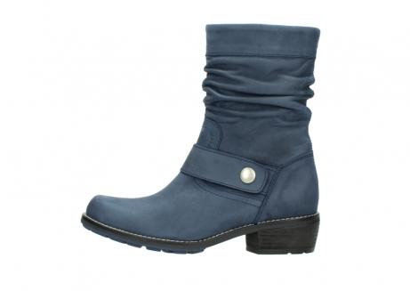 wolky halfhoge laarzen 0526 desna 180 donkerblauw geolied nubuck_1