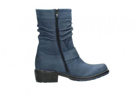 wolky halfhoge laarzen 0526 desna 180 donkerblauw geolied nubuck_12