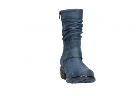 wolky halfhoge laarzen 0526 desna 180 donkerblauw geolied nubuck_18