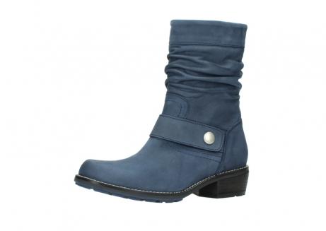 wolky halfhoge laarzen 0526 desna 180 donkerblauw geolied nubuck_23