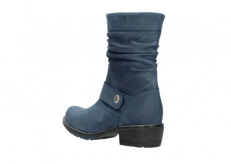 wolky halfhoge laarzen 0526 desna 180 donkerblauw geolied nubuck_4