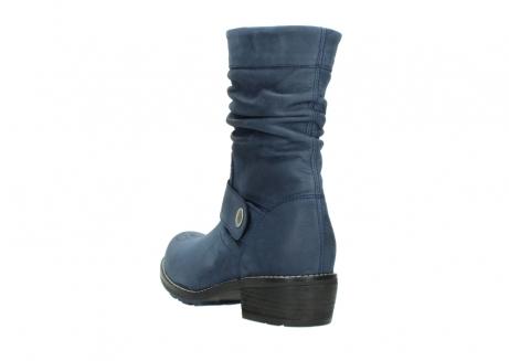 wolky halfhoge laarzen 0526 desna 180 donkerblauw geolied nubuck_5