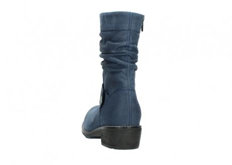 wolky halfhoge laarzen 0526 desna 180 donkerblauw geolied nubuck_6