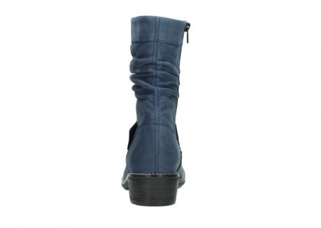 wolky halfhoge laarzen 0526 desna 180 donkerblauw geolied nubuck_7