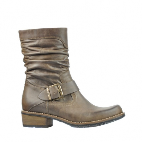 wolky halbhohe stiefel 0557 blanco 815 taupe ascot leder