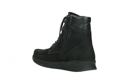 wolky mid calf boots 05904 four 10000 black stretch nubuckleather_16