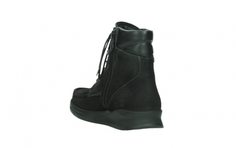 wolky mid calf boots 05904 four 10000 black stretch nubuckleather_17