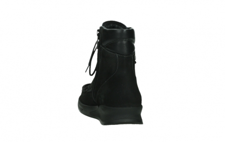 wolky mid calf boots 05904 four 10000 black stretch nubuckleather_18