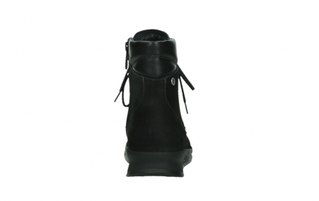 wolky mid calf boots 05904 four 10000 black stretch nubuckleather_19