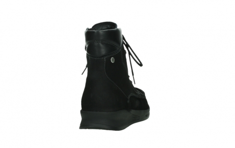 wolky mid calf boots 05904 four 10000 black stretch nubuckleather_20