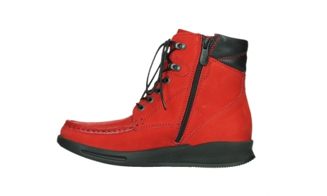 wolky mid calf boots 05904 four 10505 darkred stretch nubuck_13