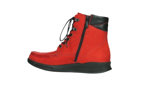 wolky mid calf boots 05904 four 10505 darkred stretch nubuck_14