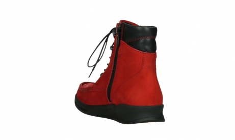 wolky mid calf boots 05904 four 10505 darkred stretch nubuck_17