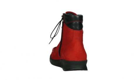 wolky mid calf boots 05904 four 10505 darkred stretch nubuck_18
