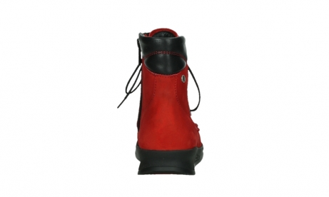 wolky mid calf boots 05904 four 10505 darkred stretch nubuck_19
