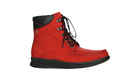 wolky mid calf boots 05904 four 10505 darkred stretch nubuck_2