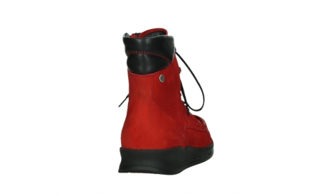 wolky mid calf boots 05904 four 10505 darkred stretch nubuck_20