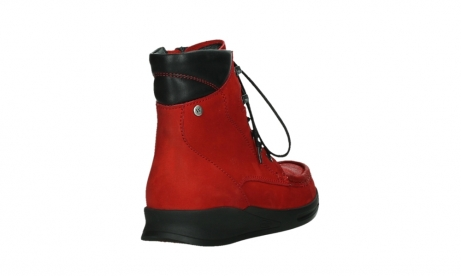 wolky mid calf boots 05904 four 10505 darkred stretch nubuck_21