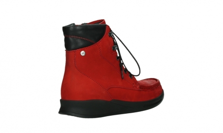 wolky mid calf boots 05904 four 10505 darkred stretch nubuck_22