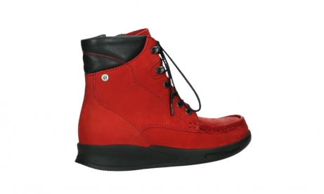 wolky mid calf boots 05904 four 10505 darkred stretch nubuck_23