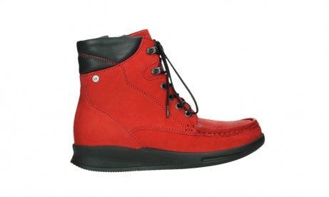 wolky mid calf boots 05904 four 10505 darkred stretch nubuck_24