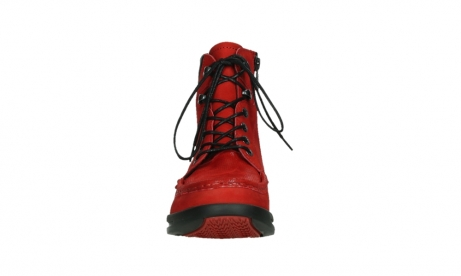 wolky mid calf boots 05904 four 10505 darkred stretch nubuck_7