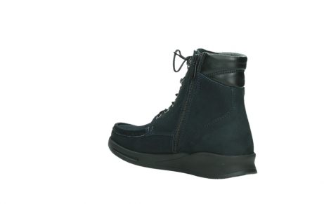 wolky mid calf boots 05904 four 10875 darkblue stretch nubuck_16
