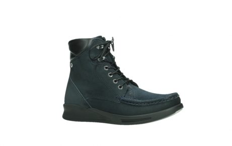 wolky mid calf boots 05904 four 10875 darkblue stretch nubuck_3