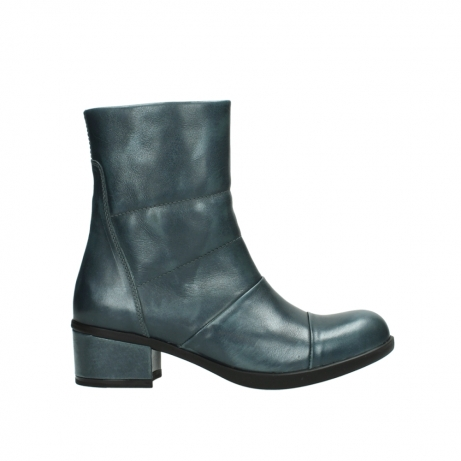 wolky mid calf boots 06030 amsterdam 30283 metal graca leather