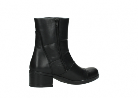 wolky mid calf boots 06032 amsterdam cw 20000 black leather cold winter warm lining_11