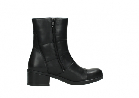 wolky mid calf boots 06032 amsterdam cw 20000 black leather cold winter warm lining_12