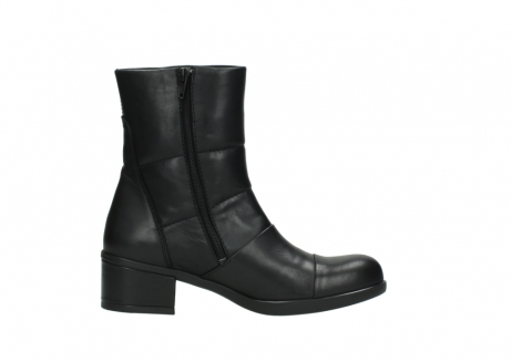 wolky mid calf boots 06032 amsterdam cw 20000 black leather cold winter warm lining_13