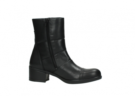 wolky mid calf boots 06032 amsterdam cw 20000 black leather cold winter warm lining_14