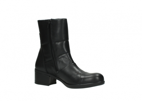 wolky mid calf boots 06032 amsterdam cw 20000 black leather cold winter warm lining_15