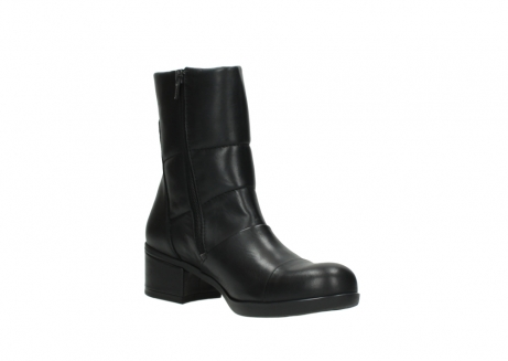 wolky mid calf boots 06032 amsterdam cw 20000 black leather cold winter warm lining_16