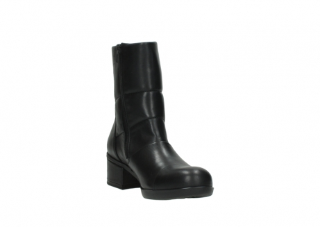 wolky mid calf boots 06032 amsterdam cw 20000 black leather cold winter warm lining_17