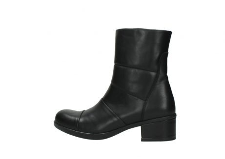 wolky mid calf boots 06032 amsterdam cw 20000 black leather cold winter warm lining_2