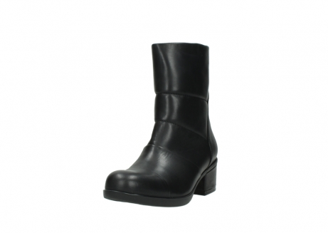 wolky mid calf boots 06032 amsterdam cw 20000 black leather cold winter warm lining_21