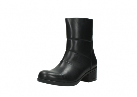 wolky mid calf boots 06032 amsterdam cw 20000 black leather cold winter warm lining_22