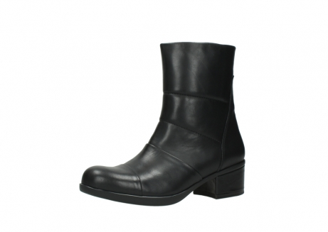 wolky mid calf boots 06032 amsterdam cw 20000 black leather cold winter warm lining_23
